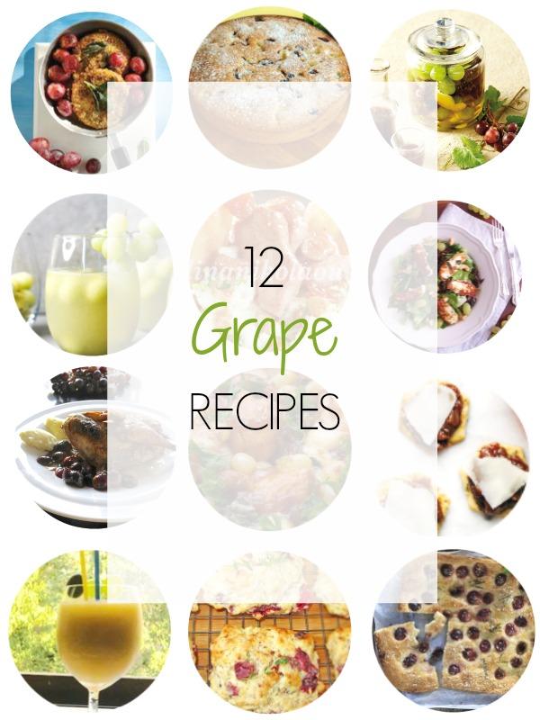 Grape Recipes Round Up - Ioanna's Notebook