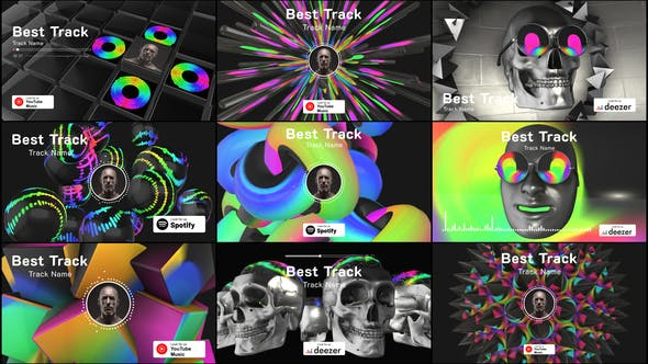 3D Music Visualizer[Videohive][After Effects][25233406]