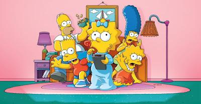 melhores séries aprender inglês Os Simpsons