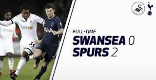 Tottenham Hotspur Menang 2-0 Atas Swansea City