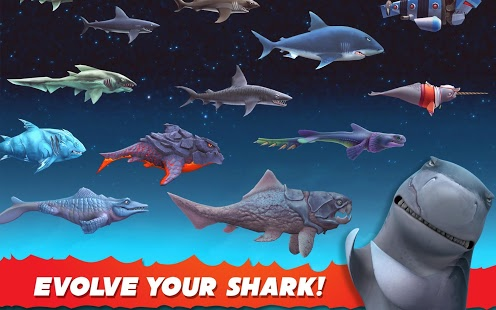 Download Hungry Shark Evolution Mod APK v4.8.0 [Unlimited Coin/Gems]