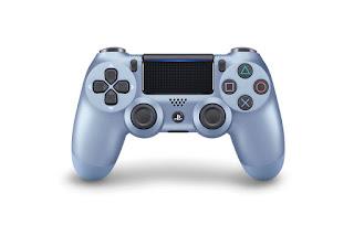 Tittanium Blue DualShock 4