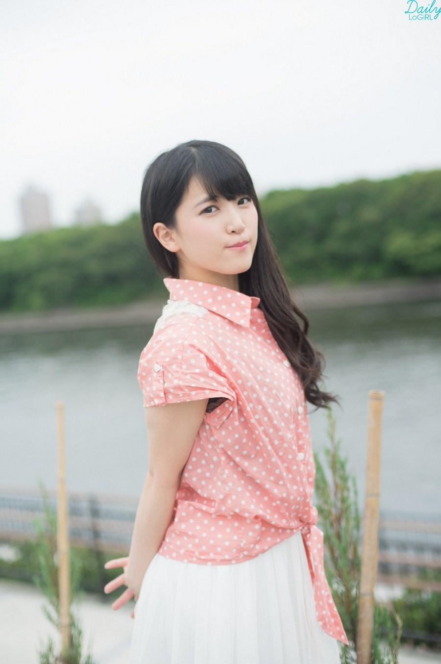 Watanabe Kurumi 渡辺くるみ, Matsuda Ayuna 松田あゆな Ange☆Reve, Daily LoGiRL No.498-499 2016.06.09 Gravure
