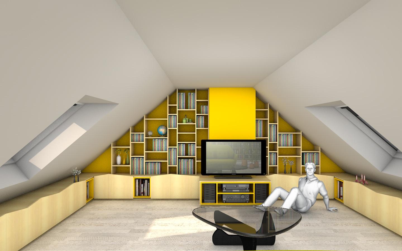 pascal ponchon architecte d 39 int rieur vannes morbihan bretagne am nagement de combles d 39 une. Black Bedroom Furniture Sets. Home Design Ideas