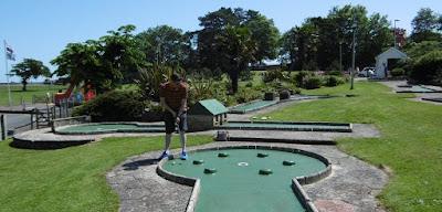 Mini Golf in Goodrington Sands