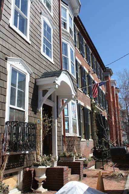 Row houses in Annapolis