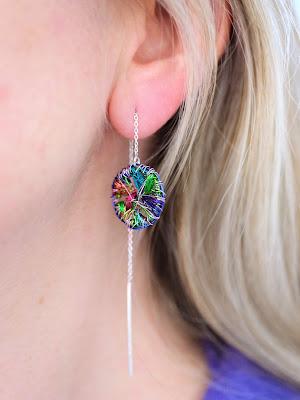 Unusual earrings, unique earrings