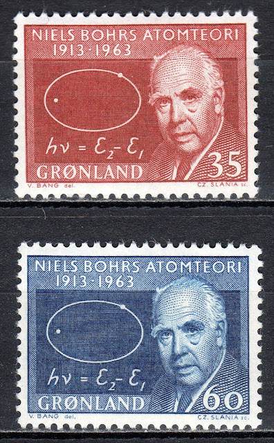 Greenland - 1963 Niels Bohr / Atomic theory