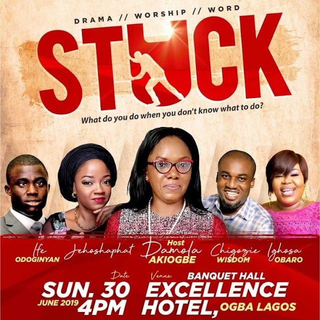 "EVENT: Damola Akiogbe Hosts Bi-Annual #WhereAreYourAccusers Drama Event Tagged ""STUCK!"""