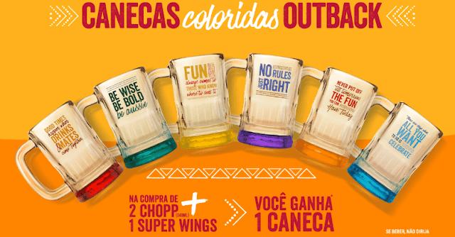 CANECAS COLORIDAS OUTBACK   Blog Top da Promoção www.topdapromocao.com.br @topdapromocao #topdapromocao