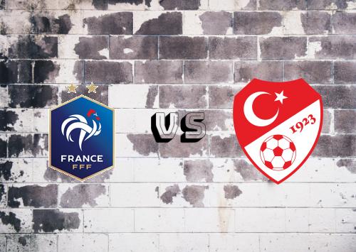 Francia vs Turquía  Resumen y Partido Completo