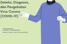 Corona Virus: Deteksi, Diagnosis dan Pengobatan