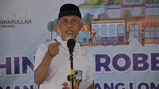 Lakukan Sejumlah Peresmian, Wako Mahyeldi Sambut Baik Geliat Pasar Raya Padang