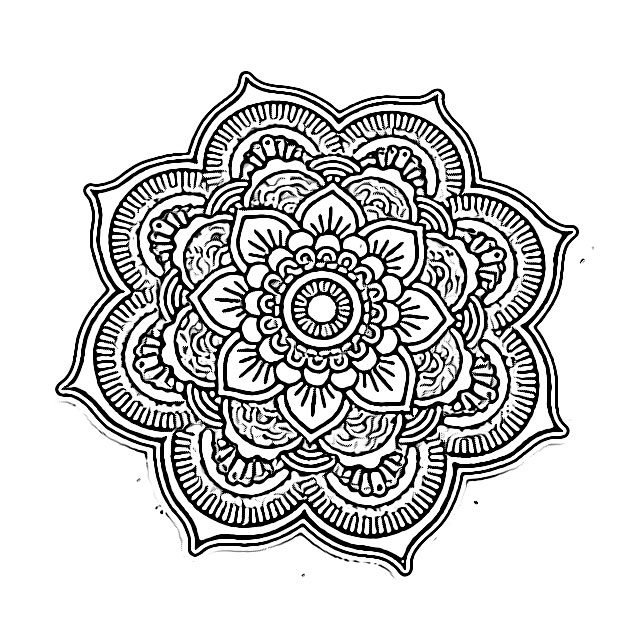mandala free printable coloring pages holiday.filminspector.com