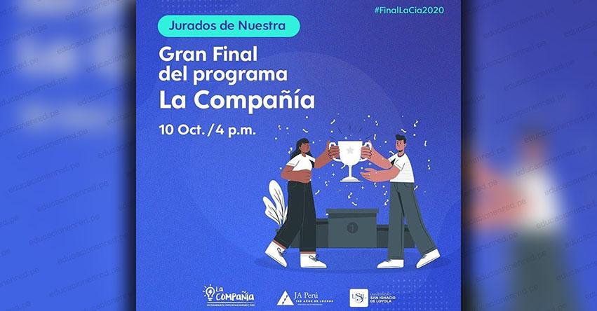 Premiarán los mejores proyectos del programa La Compañía, de Junior Achievement Perú