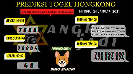 Prediksi jumlah pasti lotere di Hong Kong pada hari Minggu, 24 Januari 2021