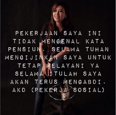 Any Kusuma Dewi, Sosialita Cantik Berhati 'Malaikat' Ini Peduli Banget Sama Kaum Miskin