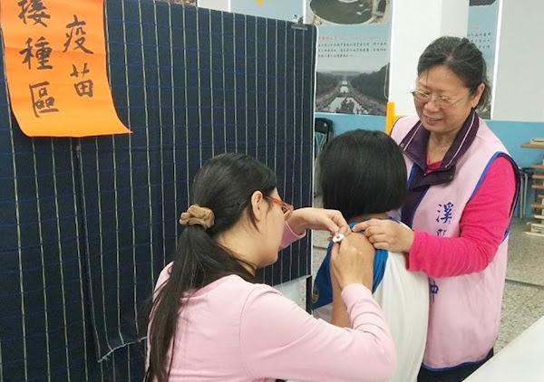 彰化縣免費接種子宮頸疫苗 4900位國一女生受惠