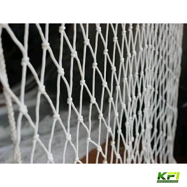 jaring gawang futsal putih