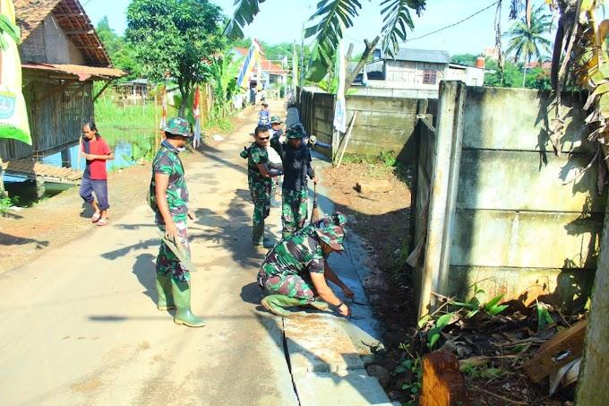 Perbaikan Drainase Program TMMD Kurangi Risiko Banjir