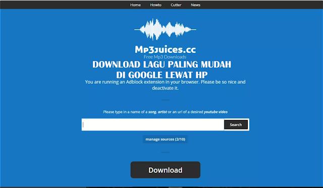 Cara Download Lagu Mp3 Di Google Lewat HP Paling Mudah Tanpa Aplikasi