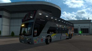 Scania Panoramico Bus DD 6×2