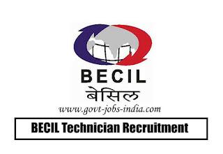 BECIL Technician Recruitment 2020