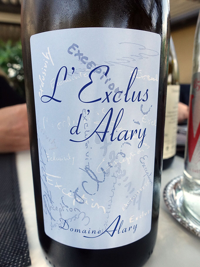 Domaine Alary L'Exclus d'Alary Blanc 2017 (88 pts)