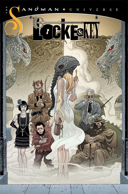 Cover of Locke & Key / Sandman: Hell & Gone #1