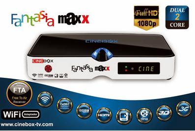 CINEBOX FANTASIA MAXX HD NOVA ATUALIZAÇÃO - 29/07/2019