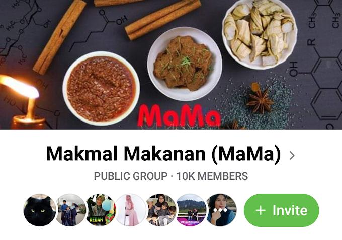 Group Makmal Makanan ( MaMa)