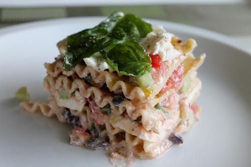 Fresh Tomato Lasagna