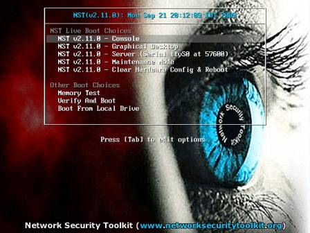 Network securiyt toolkit