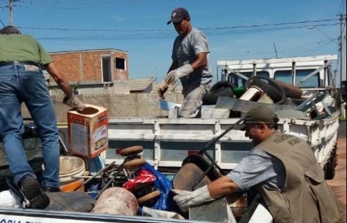 Prefeitura de Ourinhos realiza Operação Cidade Limpa na luta contra a dengue