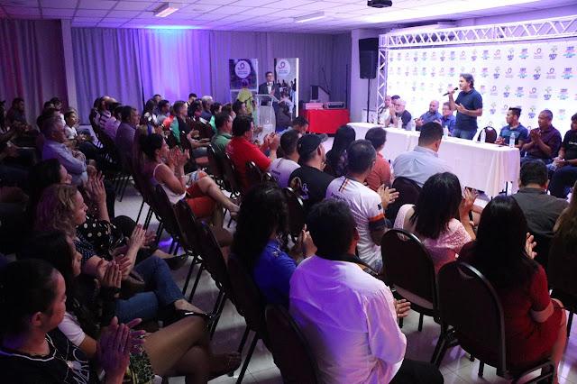 Prefeitura de Luís Eduardo Magalhães realizou o lançamento do 1º Oeste Cup- o maior evento esportivo que o oeste baiano já viu