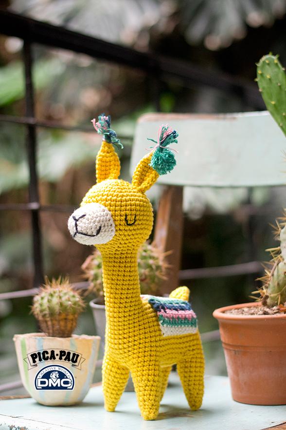 Llama Amigurumi Crochet Souvenirs - $ 1.150,00 en Mercado Libre | 882x588