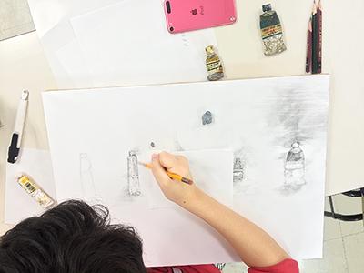 美術クラブ 横浜美術学院の中学生向け教室 ぜんぶ自分でつくる「自由制作」6