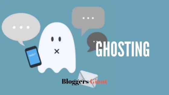 Ghosting Fake Nice People