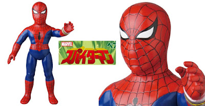 Amazing Spider-Man 1977 Television Series Marvel Retro Sofubi Collection Vinyl Figures by Medicom Toy