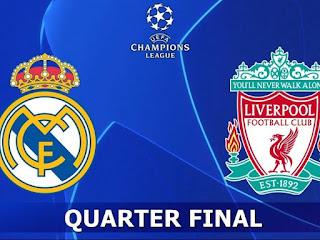 مشاهدة مباراة ريال مدريد وليفربول بث مباشر 06-04-2021 صلاح وراموس