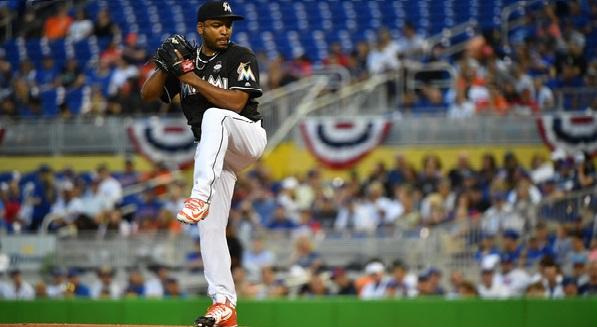 Según reporta Joe Frisaro, de MLB.com, el pitcher de la Habana Vieja tiró dos innings este lunes, en un partido de primavera extendida, con labor de 30 lanzamientos.