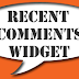 How to Put Recent comment widget in Your Blog Or Website (new 2015)