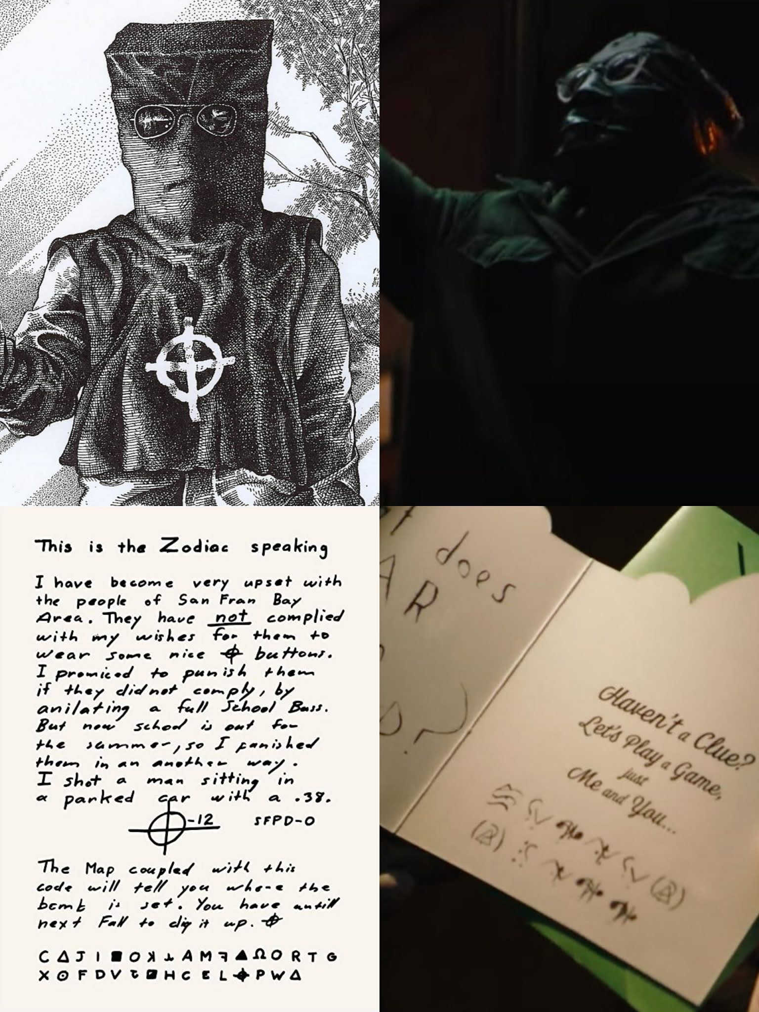 Riddler, Batman 2021, Zodiac Killer
