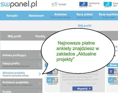 SWPanel, najnowsze płatne ankiety.