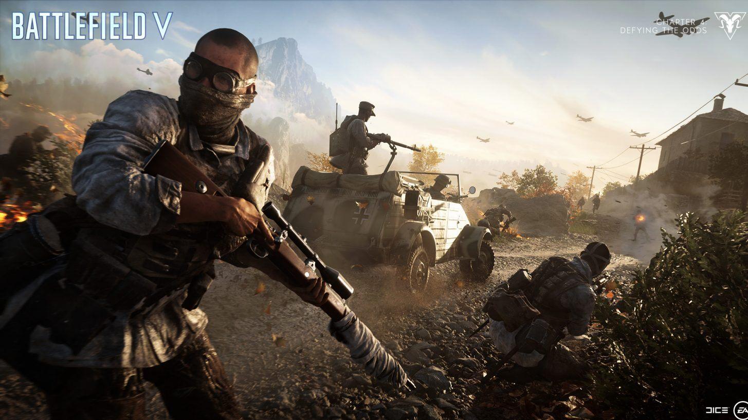 Battlefield V: DICE quer saber o quanto você gosta do ritmo do jogo e mais