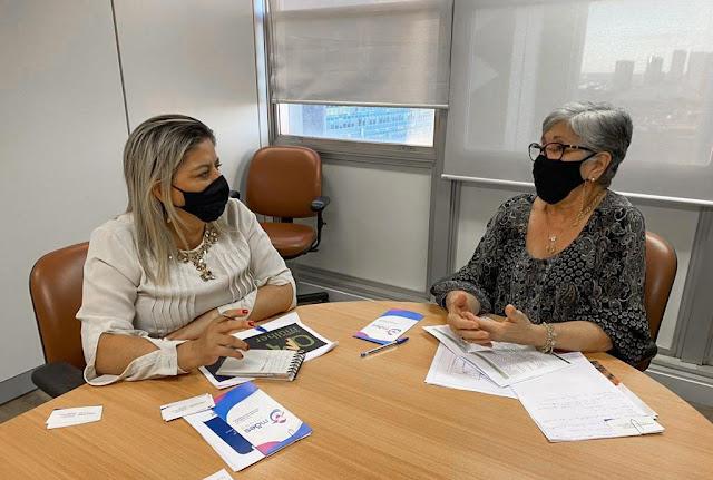 Secretária Karlúcia Macêdo participa de audiência na Secretaria Nacional de Políticas para as Mulheres, em Brasília