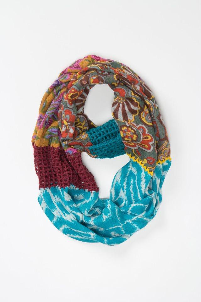 Unir 2 Pañuelos con Crochet