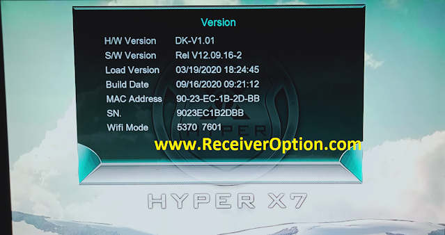 HYPER X7 1507G 1G 8M NEW SOFTWARE WITH ECAST & FACEBOOK LIVE OPTION