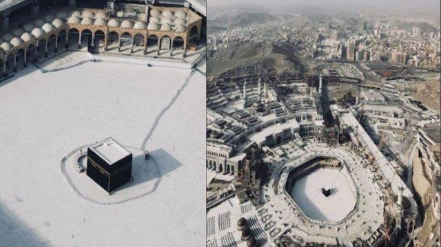 Status Mekkah Saat ini - Arab Saudi Tutup Penuh Mekkah dan Madinah, Jam Malam Bertambah Jadi 24 Jam