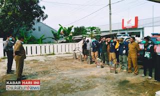 Aparat dan Relawan Covid-19 Desa Neglasari Jampang Kulon